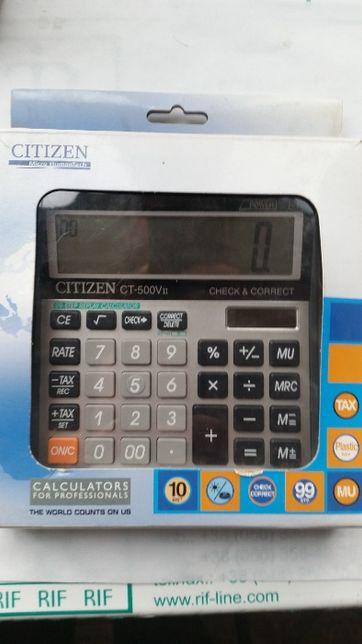 Калькулятор Citizen CT-500V II