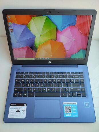 Тонкий ноутбук ультрабук HP Stream 14-cb171wm Intel 4Gb DDR4 64Gb SSD