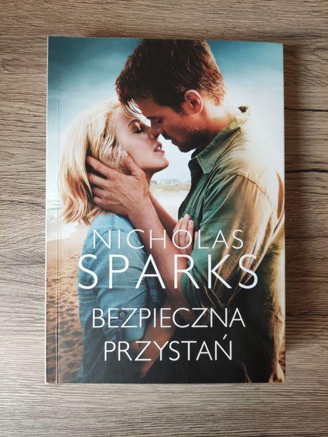 Bezpieczna przystań, książka Nicholas Sparks