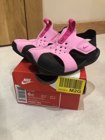 OKAZJA! j. NOWE Sandały Nike Sunray Protect 2. 6C/ 22 / 14cm