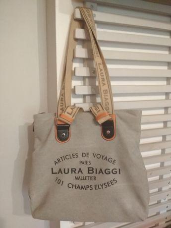 Laura Biaggi .Duża torebka