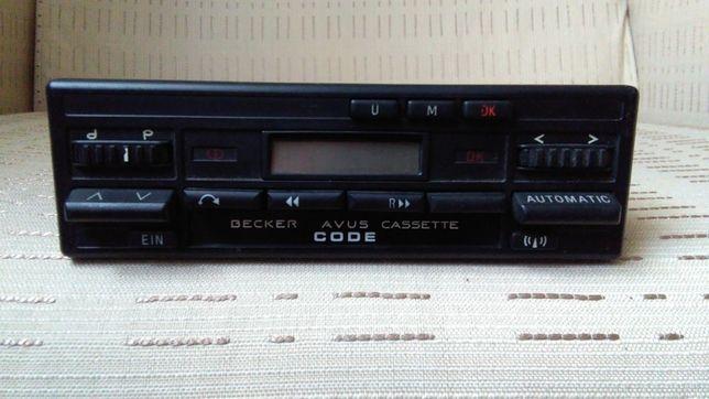 Radio Becker Avus Casette