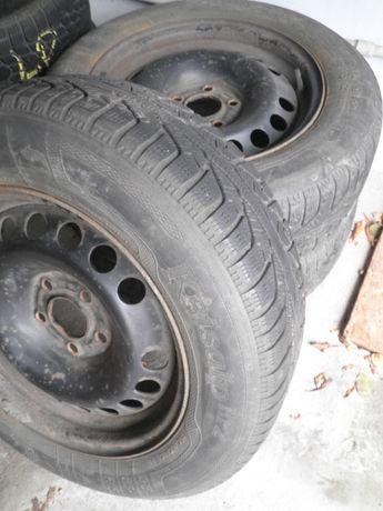 Opony zimowe 195/65/15 Kleber / Michelin + felgi