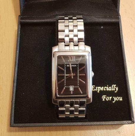 Zegarek męski Sekonda na bransolecie srebrny t3771 Japan mvt