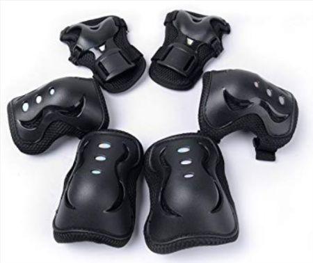 Pack de protecções para criança para desportos exteriores