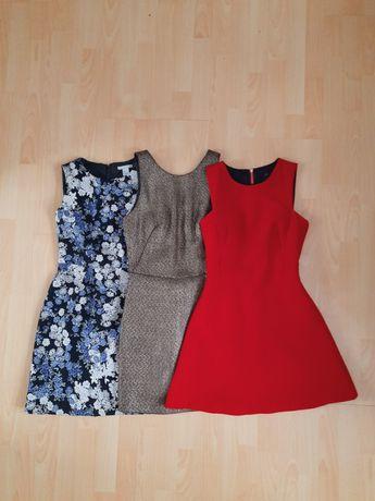 Zestaw sukienka XS zara reserved h&m