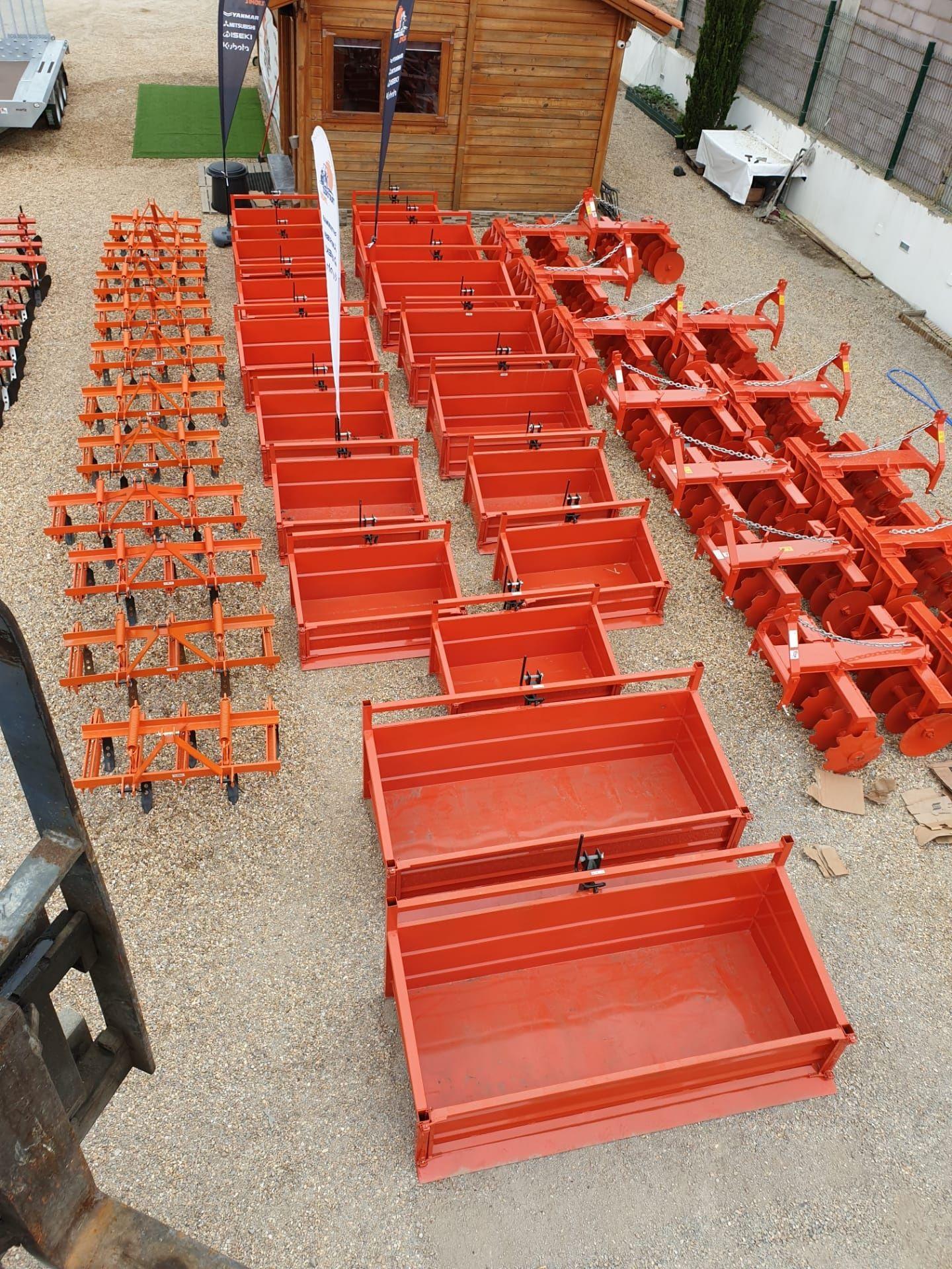 Caixas de Carga Basculantes-novas-reforçadas-garantia-transporte