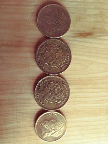Moneta Grecja 100 i 50 Drahma.
