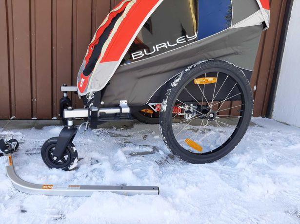 Burley Solo przyczepka rowerowa Amortyzowana