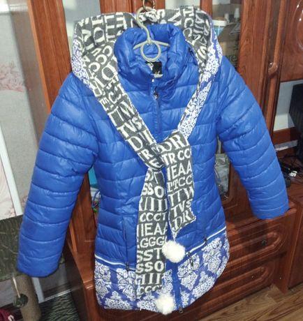 Пальто зимове для дівчинки