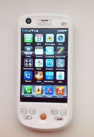 Телефон NOKIA на 2 симкарты сенсорный