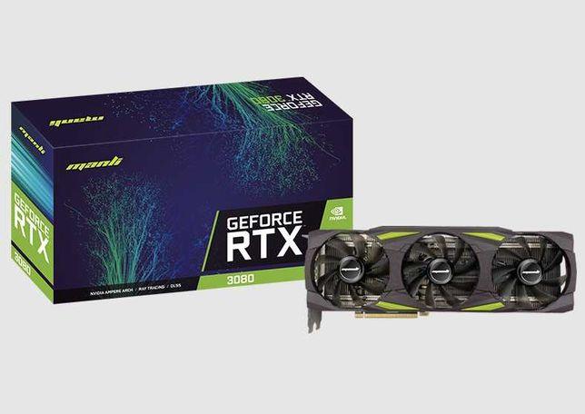 Видеокарта Manli GeForce RTX 3080 10 Gb Triple Fan LHR