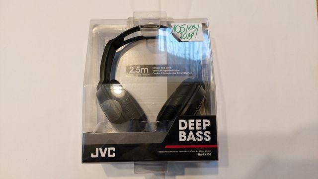 Słuchawki JVC, nowe, w pudełku