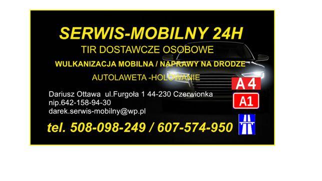 Mobilna Wulkanizacja 24h - Serwis Mobilny TIR - Dojazd do Czech