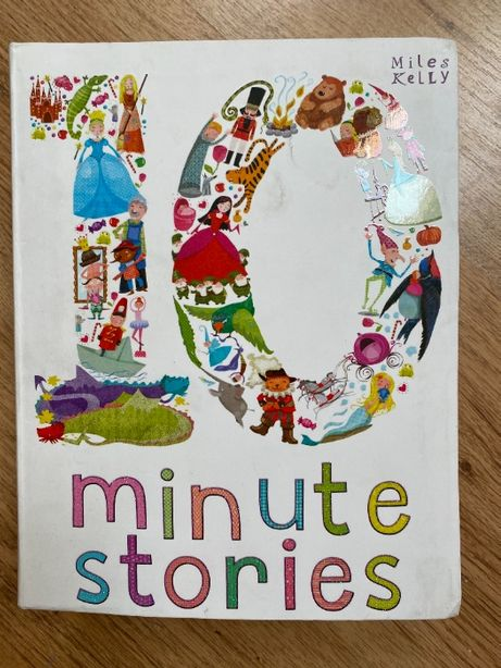 10 minute stories. Miles Kelly. Książka po angielsku dla dzieci.