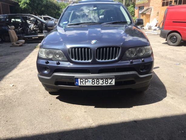 Дверь передняя задняя Двери BMW X5 Е53 бампер фара крыло зеркало