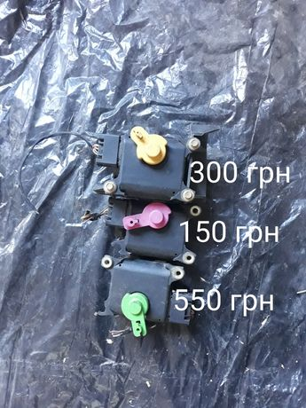 Моторчики печки, резистор печки