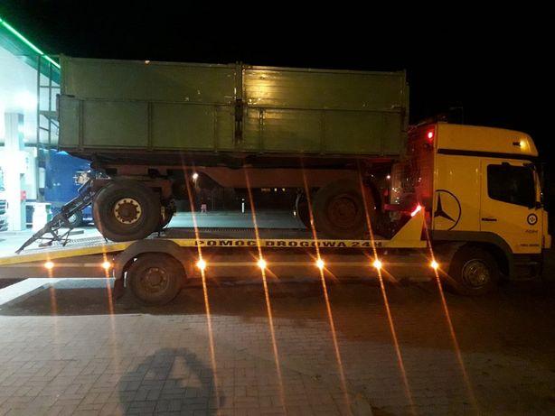 Transport ciągników rolniczych, maszyn budowlanych, przyczep