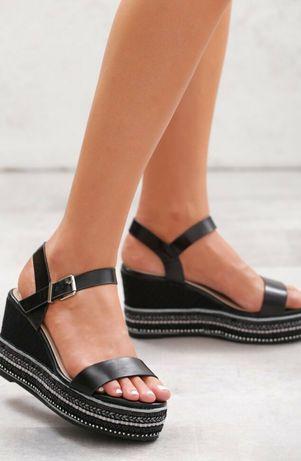 Sandały damskie 40