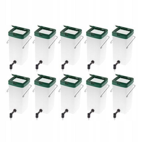Uniwersalne Poidła kropelkowe dla królików 1l - zestaw 10 szt