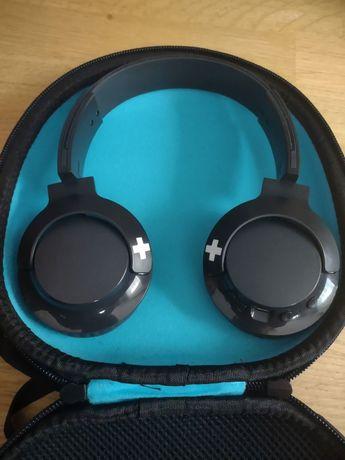 Słuchawki bezprzewodowe. Philips Bass+ On-Ear SHB3075.Gratis pokrowiec
