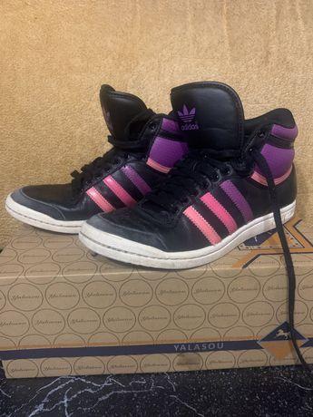 Кроссовки adidas хайтопы адидас