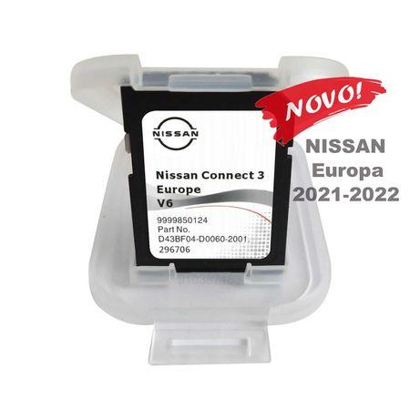 Nissan Cartao GPS - Connect3 - V6 Europa 2022