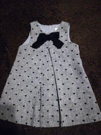 Sukieneczka dla dziewczynki rozmiar 74