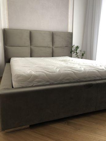 Łóżko Senpo z materacem 160cm jak nowe ma miesiąc