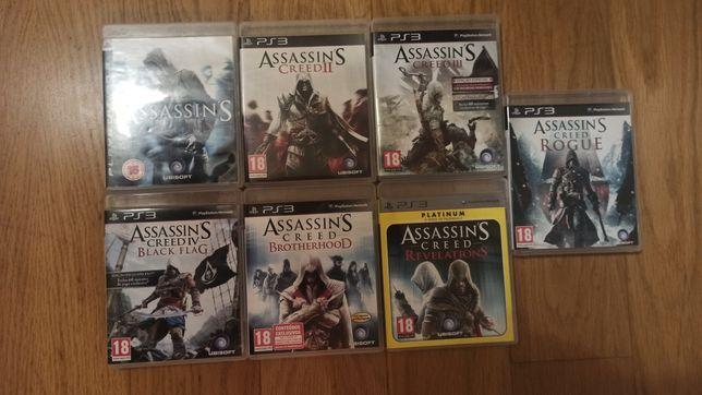 Coleção completa Assassins Creed