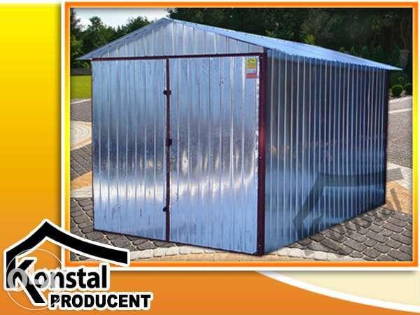 Domek ogrodowy altanka garaż blaszany garaże blaszane 2x3 CAŁA POLSKA