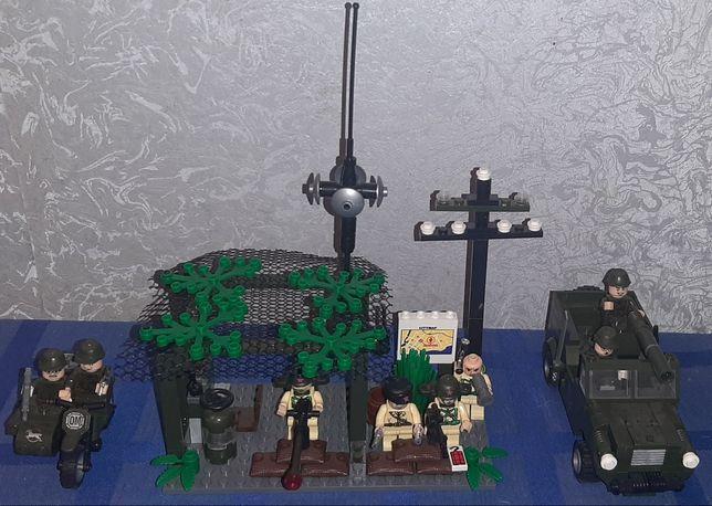 Lego военное. Конструктор.