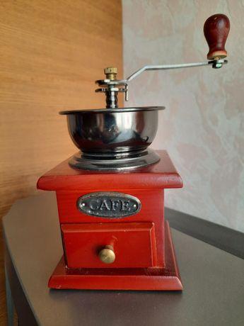 Кавомолка механічна, кофемолка, декор