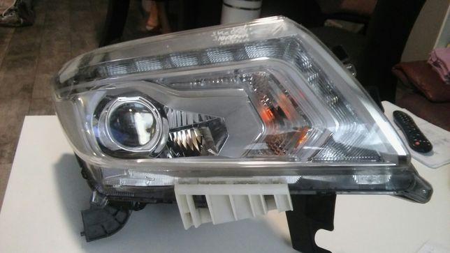 Lampa prawa navara d 23 led xenon.