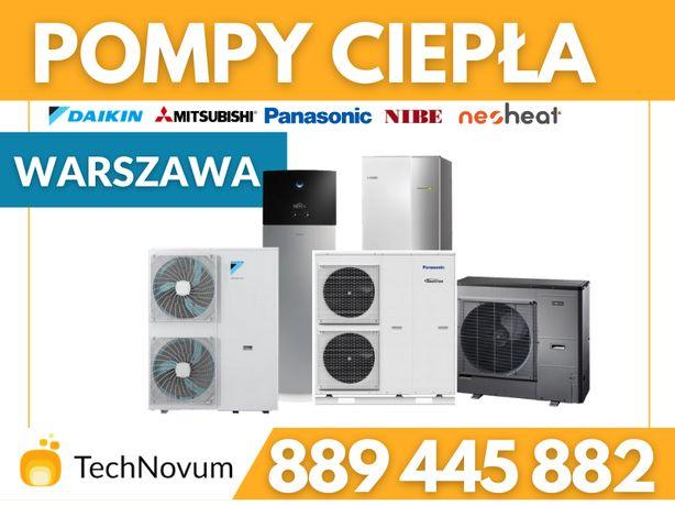Pompa ciepła Panasonic Daikin 180m2 Nibe Daikin Montaż Doradztwo CWU