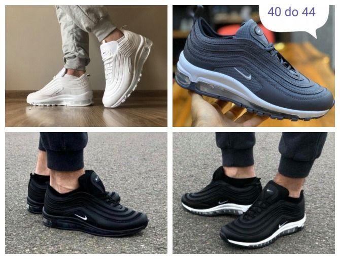 Nike Air Max 97. Rozmiar 44. Mega kolorystyka. Pobranie. Robakowo - image 1