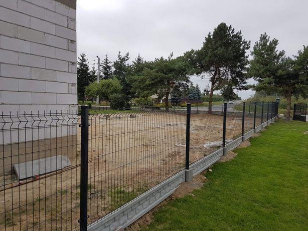 Montaż Ogrodzeń panelowych kutych betonowych:)