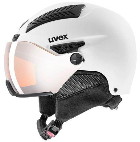 Kask narciarski Uvex hlmt 600 Visor White 57-59
