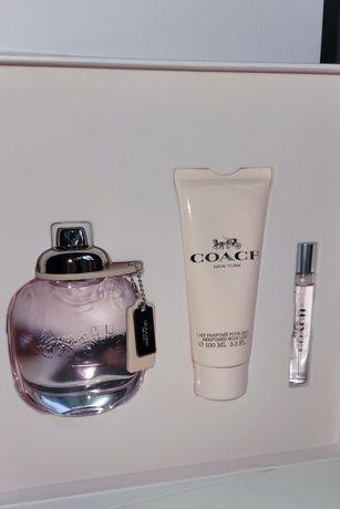 COACH New York Edt Woda Toaletowa 90ml + 7.5ml + Balsam
