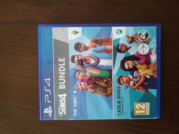 Sims 4 Bundle + pets and dogs PS4