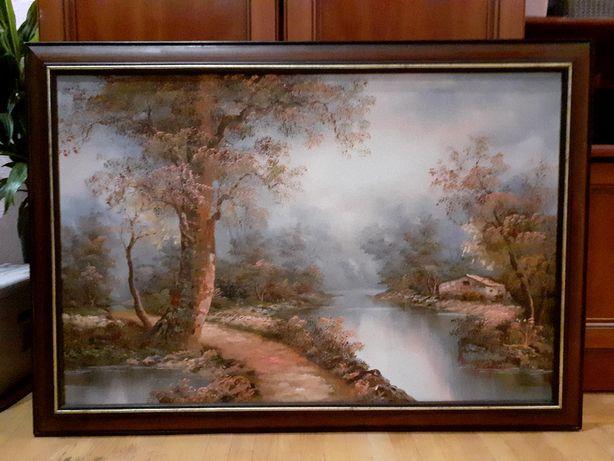 Продаю картину I.Cafieri 100×70, олія, полотно