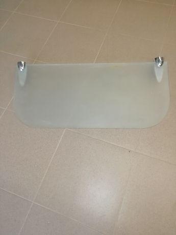 półka szklana do łazienki