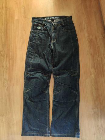 Spodnie jeansy motocyklowe kevlar rozm 30