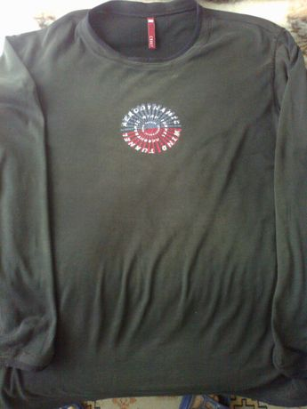 bluza męska carry czarna z logo Wind Tunel