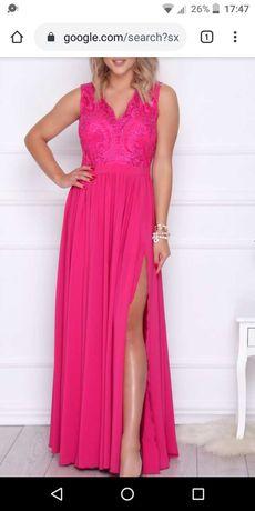 Sprzedam długa sukienkę.