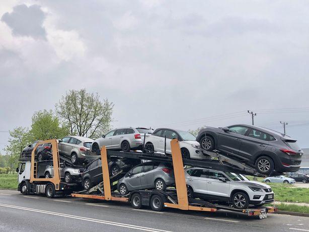 Transport Aut Samochodów NIEMCY-BELGIA-FRANCJA-Hiszpania-CAŁA EUROPA
