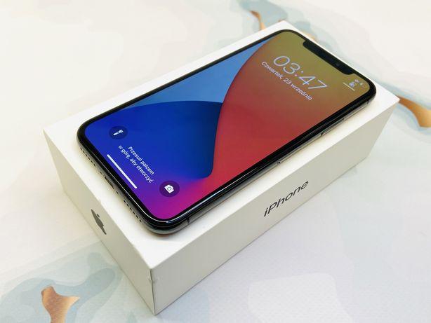 iPhone X 64GB SPACE GRAY • GWAR 12 msc • DARMOWA wysyłka • FAKTURA