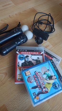 Mega zestaw move PS3