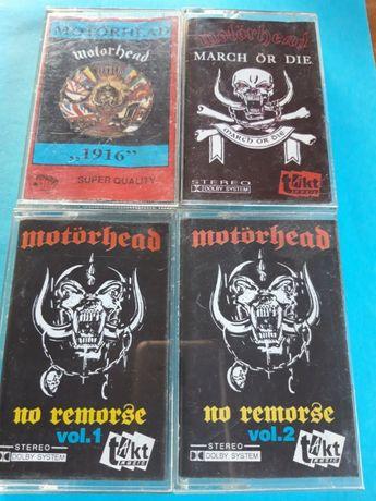 Motörhead - kasety magnetofonowe - wydania nieoficjalne