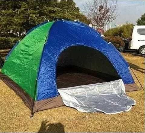 Палатка 4-местная туристическая 2х2х1.4м намет туристичний надійний